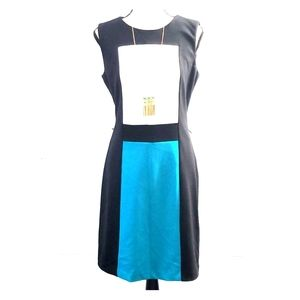 EUC CK Colorblocked dress